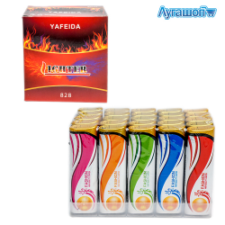 Зажигалка турбо Fashion Lighter 8 см арт. 828-3