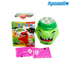 Фигурка-горшок Diy Plant Angry Birds Bad Piggies 9 см арт. YLI-12-638N-4