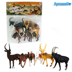 Фигурки Jungle Animal 6 шт арт. A144312
